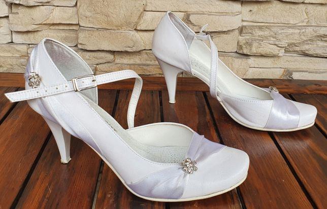 Buty ślubne ARANCI roz. 38 skóra