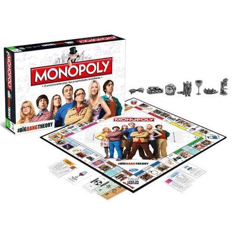 Jogo Monopólio a Teoria do Big Bang / Monopoly Big Bang Theory - Novo