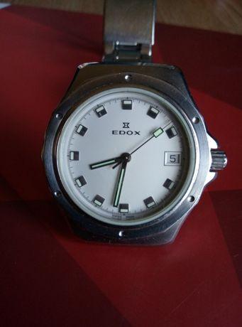 Оригинальные швейцарские часы Edox Delfin