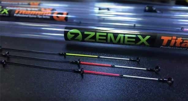 Квивертипи ZEMEX IRON Graphite/Titanium Вершинка для фидера