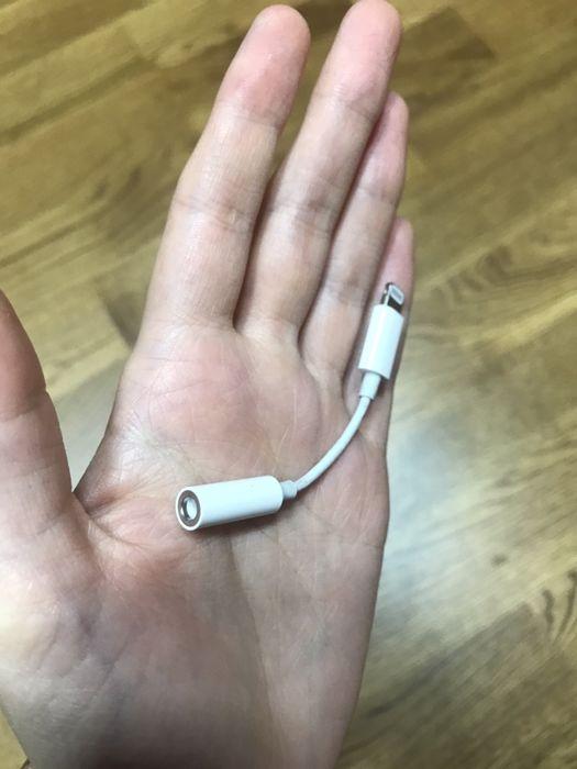Оригинальныц адаптер для наушников apple Киев - изображение 1