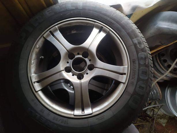 Alufelgi do opon 15 audi skoda seat VW Opony letnie gratis