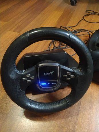 Игровой проводной руль Genius TwinWheel 900 FF PC/ PS3