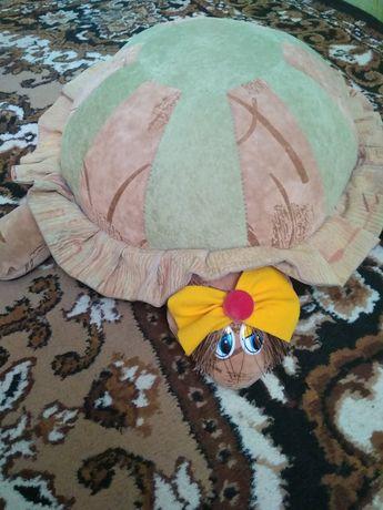 Большая мягкая игрушка черепаха