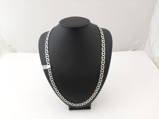 Srebrny łańcuch splot Gucci pr.925 59,36g