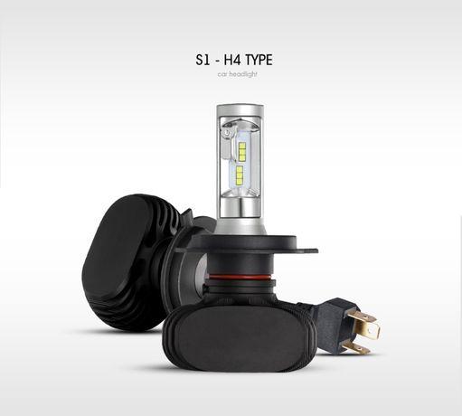 Светодиодные лампы Led H4 2шт. Лед Ближний/Дальний