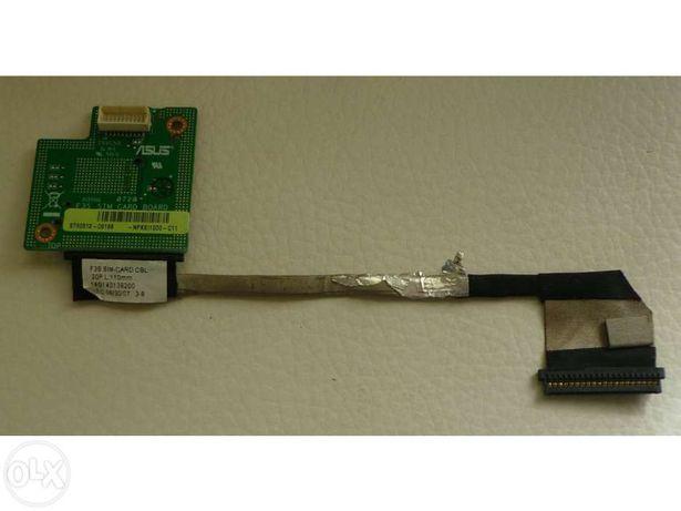 Asus f3 sim card board + asus f3 sim card cable
