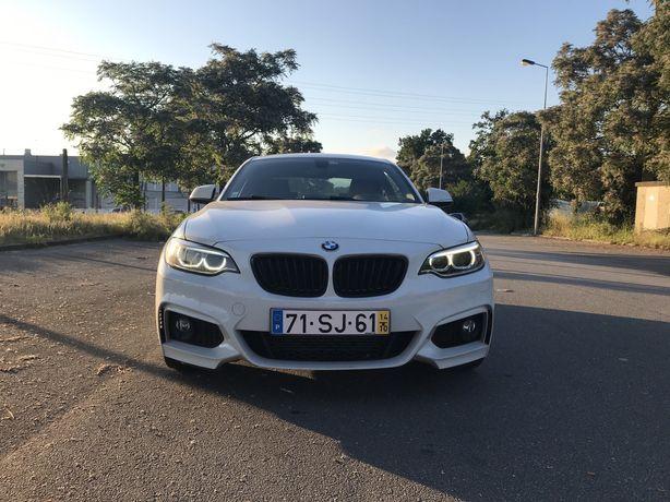 BMW 220d Serie 2 coupé