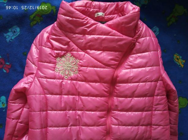 Куртка плащ зима М Л L 46 48