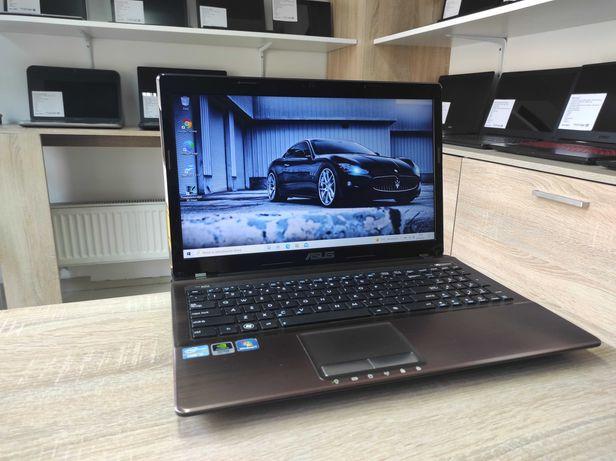 Laptop Asus x53s - i5-2450M, 8GB ram, dysk SSD, Nvidia GeForce