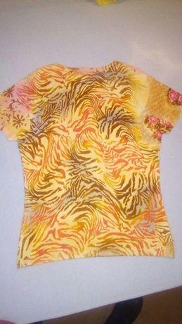 T-shirt tamanho 36 de tecido misturado multicolorido