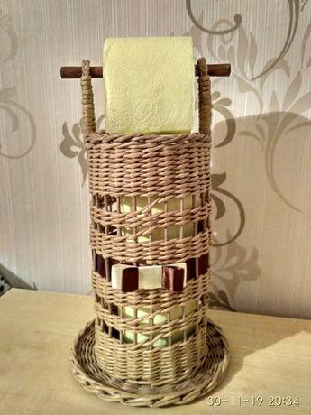 Изделия ручной работы из бумажной лозы