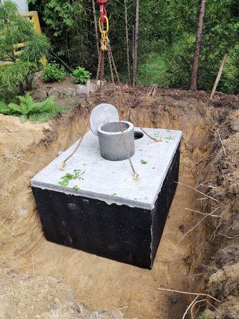 szambo betonowe na ścieki zbiornik ATEST Gwarancja5L PRODUCENT Kruszyn