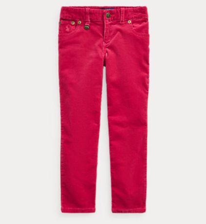 Новые джинсы вельветовые штаны скинни Ральф Лоурен Ralph lauren