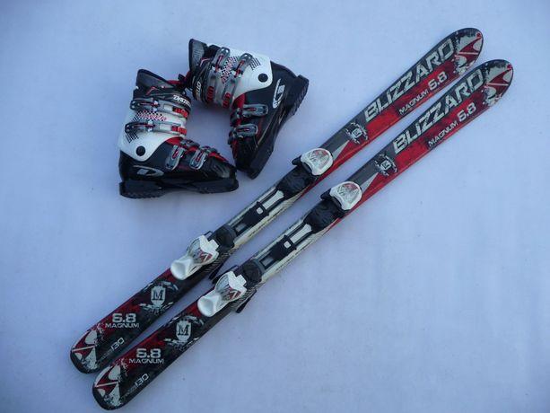 Komplet narciarski - narty Blizzard 130 cm + buty Dalbello 38 eu