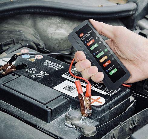 Оригинальный тестер для аккумуляторов аккумулятора tester 12V 12В
