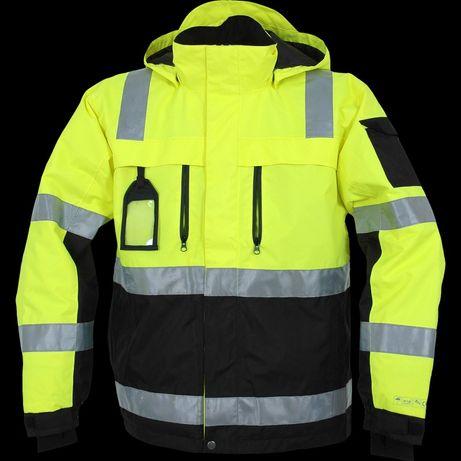 Зимняя светоотраж. непромокаемая, куртка OCEAN ABEKO Nystad Hi-Vis