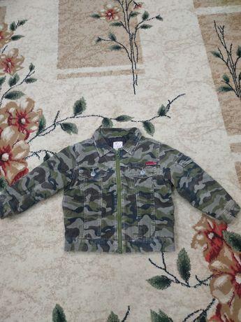 Вельветовая куртка на синтепоне за 300 рублей