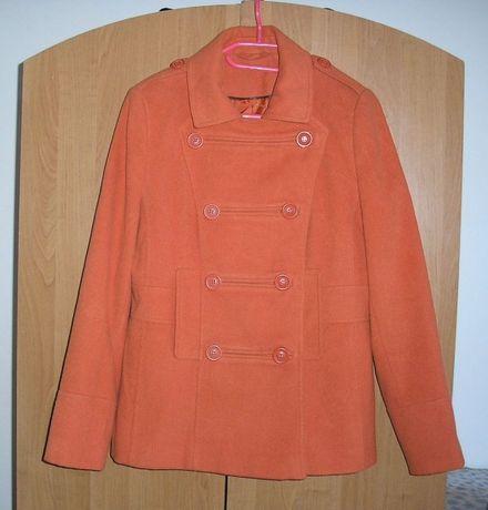 Płaszcz F&F pomarańczowy rozmiar L
