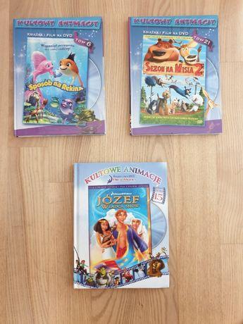 Filmy DVD dla dzieci 3 sztuki