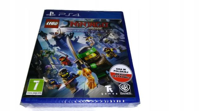 Lego Ninjago Movie Ps4 Po Polsku Pl !! Nowa !!!
