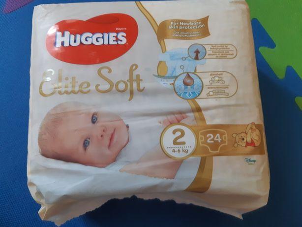 Памперсы Huggies Elite Soft 2