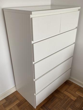 Cómoda malm 6 gavetas do Ikea