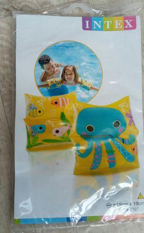 Надувные нарукавники для плавания для детей 3-6 лет