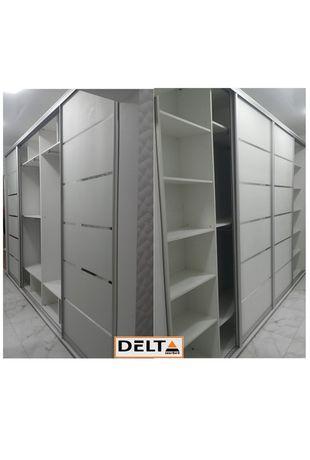 Шкафы купе в наличии в размере о  1м до 2,4 м