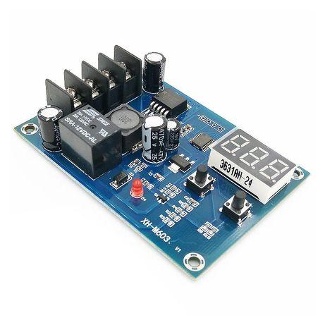 XH-M603 контроллер управления зарядным устройством аккумулятора 12-24