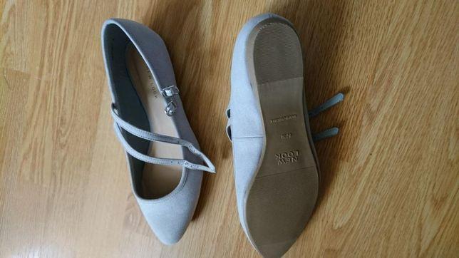 Nowe buty szare 38 new look Margaret