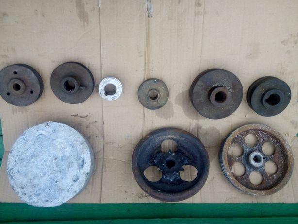 продам шкивы и заготовка дюралевая для шкива