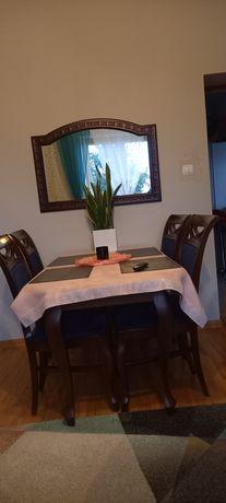Stół ,4 krzesła ,lustro