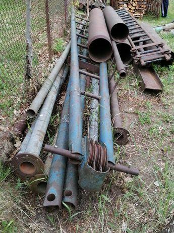 studnie głębinowe - zestaw wiertniczy obrotowo - udarowy, wieża i inne