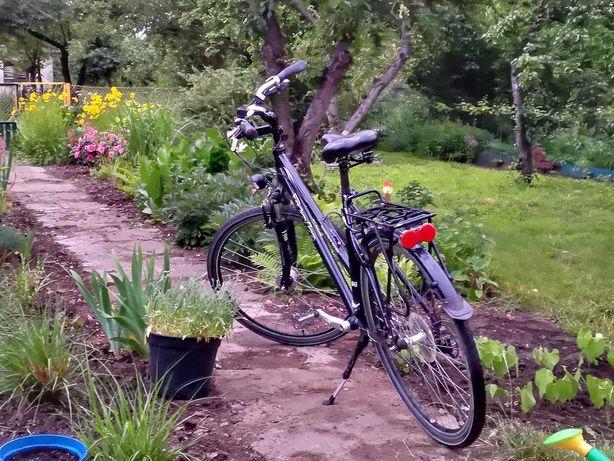 Szwajcarski rower trekkingowy damski damka 53/21 28 osprzęt DEORE