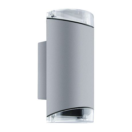 Lampa elewacyjna kinkiet zewnętrzny KASJAN 03559 2xGU10 srebrny Struhm