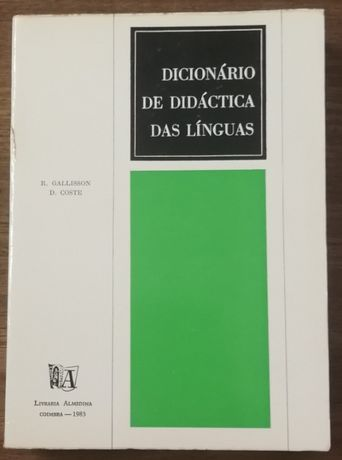 dicionário de didáctica das línguas, r. gallisson, d. coste