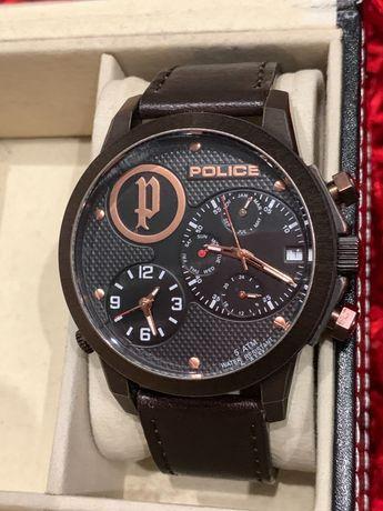Relógio da Police homem com bracelete em pele