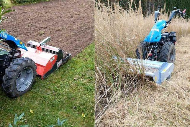Glebogryzarka separacyjna karczowanie koszenie traw nieużytków mulczer
