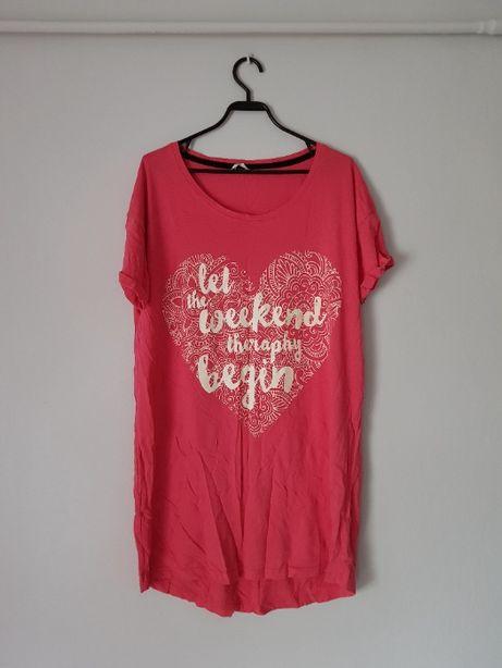 Różowa piżama jednoczęściowa Pepco