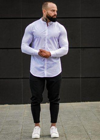 АКЦИЯ! 7 Вариантов! Мужской костюм Комплект ASOS белая рубашка Брюки