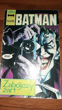 Komiks Batman Zabójczy Żart nr 1/91, komiksy