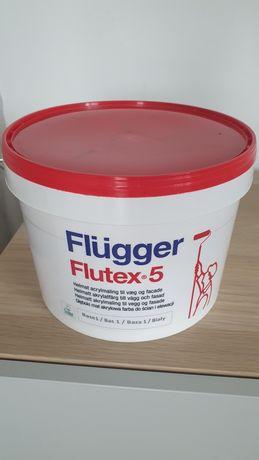 Farba Flugger różowa 3L nieużywana