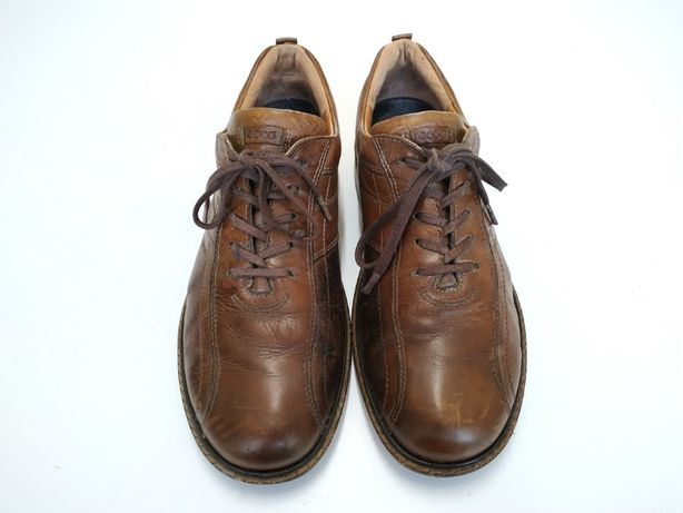 ECCO r. 45 28cm skórzane eleganckie buty półbuty męskie