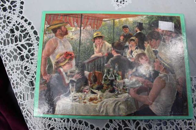 puzzle 1000 malarstwo Renoir Luncheon of the boating party