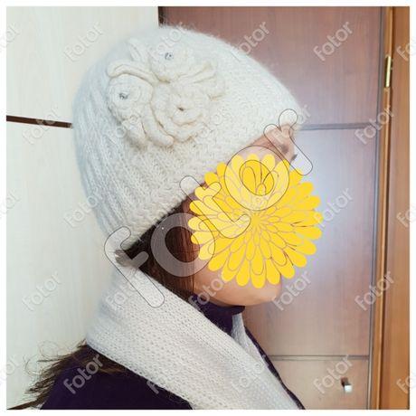 Набор Комплект зима шапка и шарф