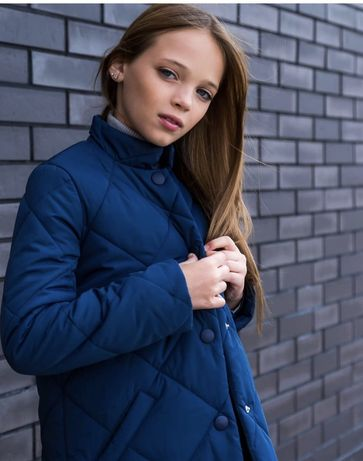 Детское пальто на девочку Arin