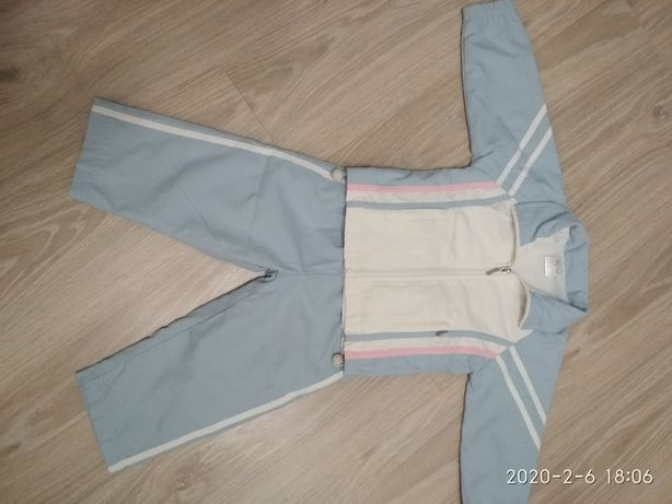 Спортивный костюм для девочки 2 года.