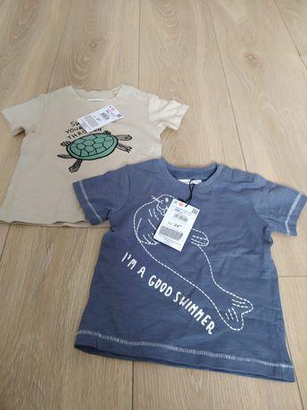 Nowe Koszulki RESERVED 2szt 68 koszluka t-shirt okazja