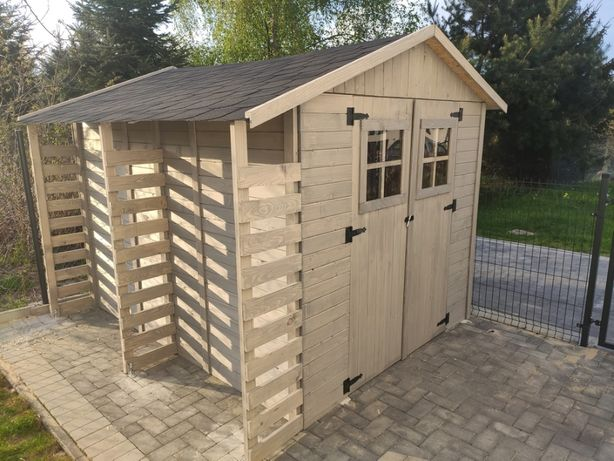 Domek narzędziowy ogrodowy drewniany 250x270x220 lub dowolny wymiar!!!